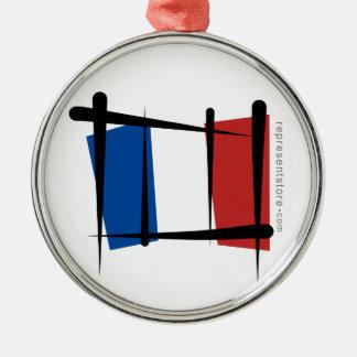 Bandera del cepillo de Francia Ornato