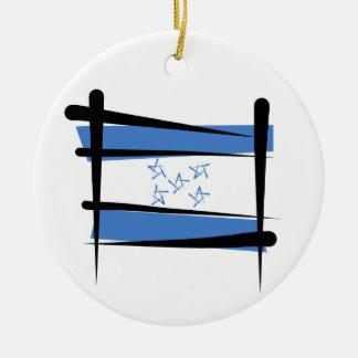 Bandera del cepillo de Honduras Ornatos