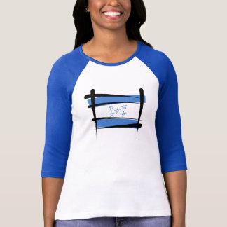 Bandera del cepillo de Honduras Camisetas