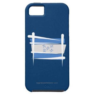 Bandera del cepillo de Honduras iPhone 5 Cárcasa