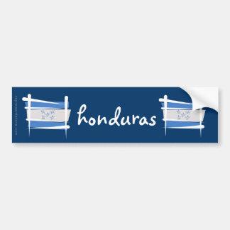 Bandera del cepillo de Honduras Pegatina Para Coche