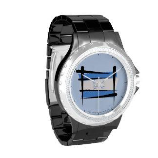 Bandera del cepillo de Honduras Relojes De Mano