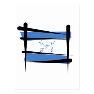 Bandera del cepillo de Honduras Postal