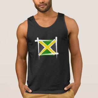 Bandera del cepillo de Jamaica Camiseta De Tirantes