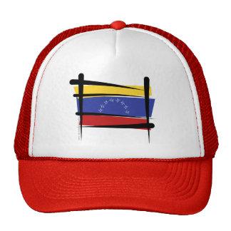 Bandera del cepillo de Venezuela Gorro De Camionero
