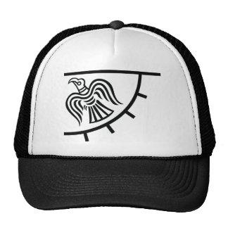 Bandera del cuervo (bandera de Viking) Gorro De Camionero
