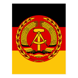 Bandera del der RDA (RDA) de la Alemania Oriental Postal