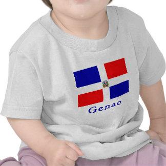 Bandera del Dominican de Genao Camiseta
