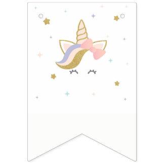 Bandera del empavesado del unicornio