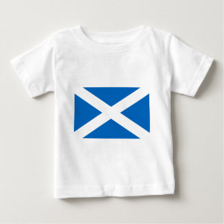 Bandera del escocés de Escocia Camiseta De Bebé