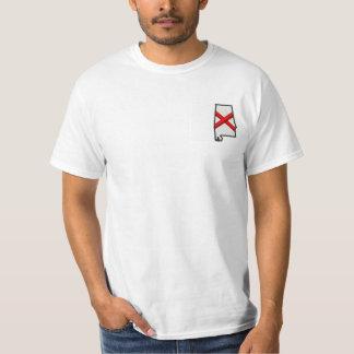 Bandera del estado de Alabama Camiseta