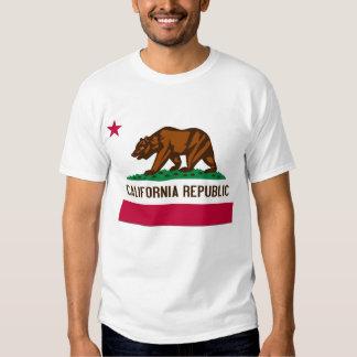 Bandera del estado de California Camisas