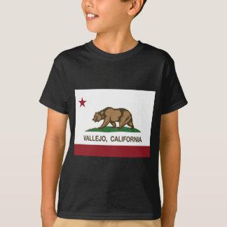 bandera del estado de California del vallejo Camiseta