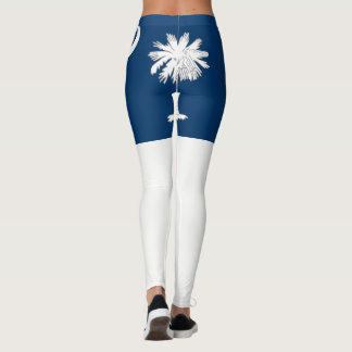 Bandera del estado de Carolina del Sur Leggings