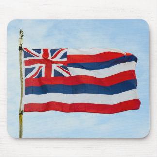 Bandera del estado de Hawaii Alfombrilla De Ratón