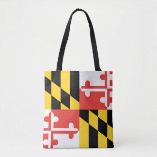 Bandera del estado de Maryland Bolso De Tela