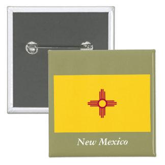 Bandera del estado de New México Pins