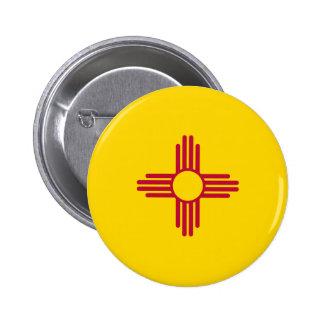 Bandera del estado de New México Pin