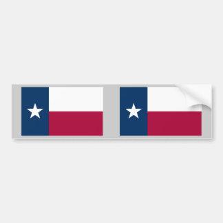Bandera del estado de Tejas Pegatina Para Coche