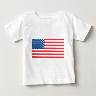 Bandera del funcionario de los E.E.U.U. Camiseta De Bebé