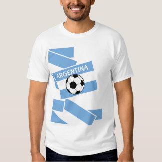 Bandera del fútbol de la Argentina Camiseta