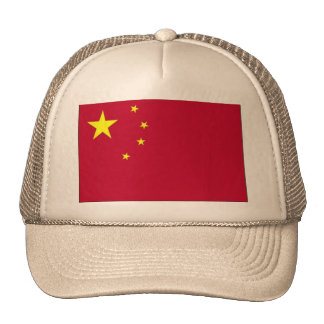 Bandera del gorra de China