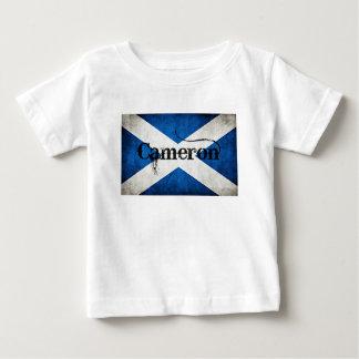 bandera del grunge de Cameron Camiseta De Bebé
