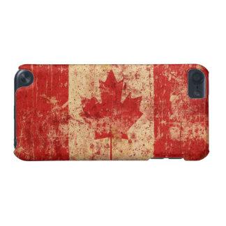 Bandera del Grunge de Canadá: generación del tacto Carcasa Para iPod Touch 5