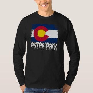 Bandera del Grunge del parque de Estes Camiseta