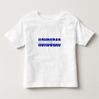 Bandera del Honduran de los regalos del emblema Camiseta De Bebé