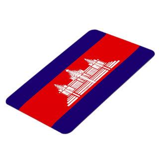 Bandera del imán de Camboya