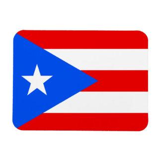 Bandera del imán de Puerto Rico