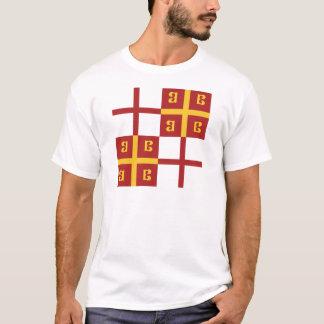 Bandera del imperio bizantino camiseta