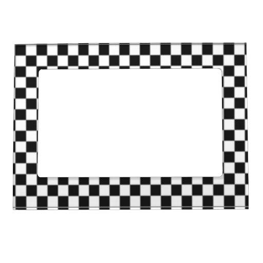 Bandera del inspector marcos magneticos de fotos