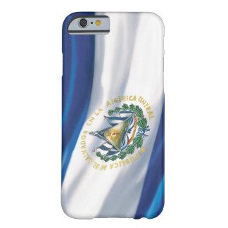 Bandera del iPhone 6 de El Salvador Funda De iPhone 6 Barely There