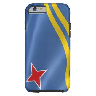 Bandera del iPhone 6 Tough™ de Aruba Funda De iPhone 6 Tough