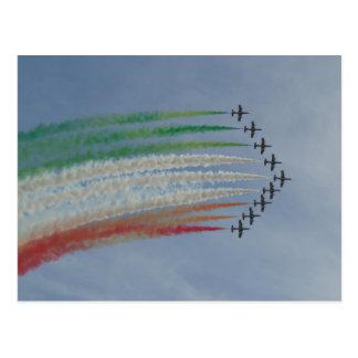Bandera del italiano de Frecce Tricolori de la Postal