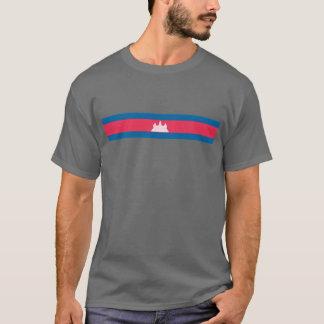 Bandera del Khmer Camiseta