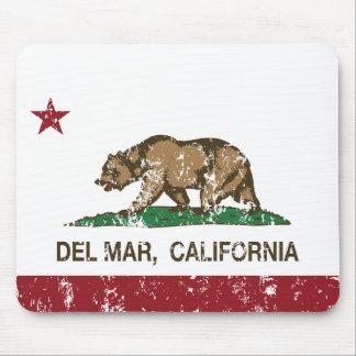 bandera Del Mar de California apenada Alfombrilla De Ratones