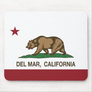 Bandera Del Mar del estado de la república de Cali Tapetes De Ratones