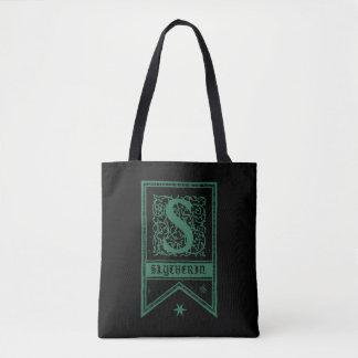 Bandera del monograma de Harry Potter el | Bolso De Tela