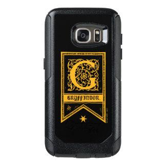 Bandera del monograma de Harry Potter el | Funda Otterbox Para Samsung Galaxy S7
