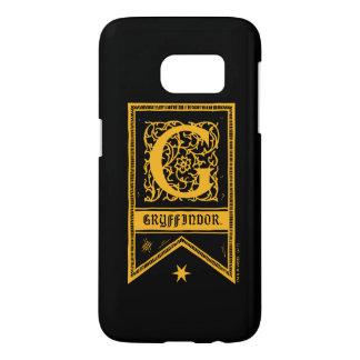 Bandera del monograma de Harry Potter el | Funda Samsung Galaxy S7