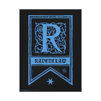 Bandera del monograma de Harry Potter el   Impresión En Lienzo