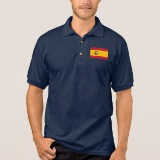 Bandera del mundo de España Polo