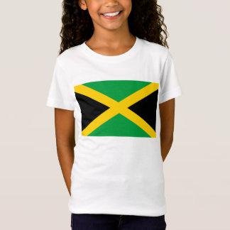 Bandera del mundo de Jamaica Camiseta