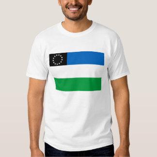 Bandera del negro de Río Camisetas