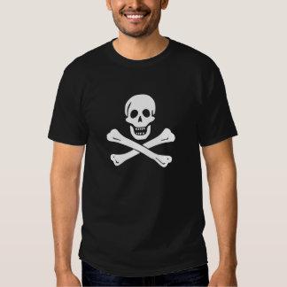 Bandera del onBlack de Edward England Camisetas