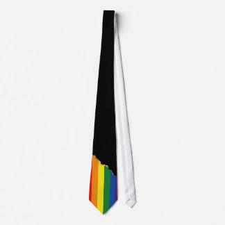 Bandera del orgullo gay corbatas