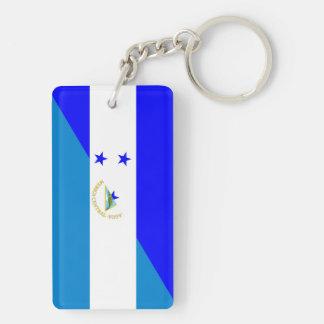 bandera del país de Honduras Nicaragua media Llavero